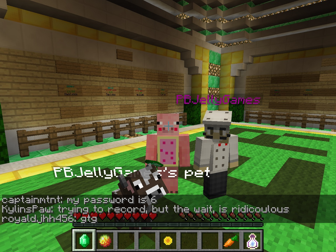 Video - Minecraft youtubers you have seen in servers?  CubeCraft