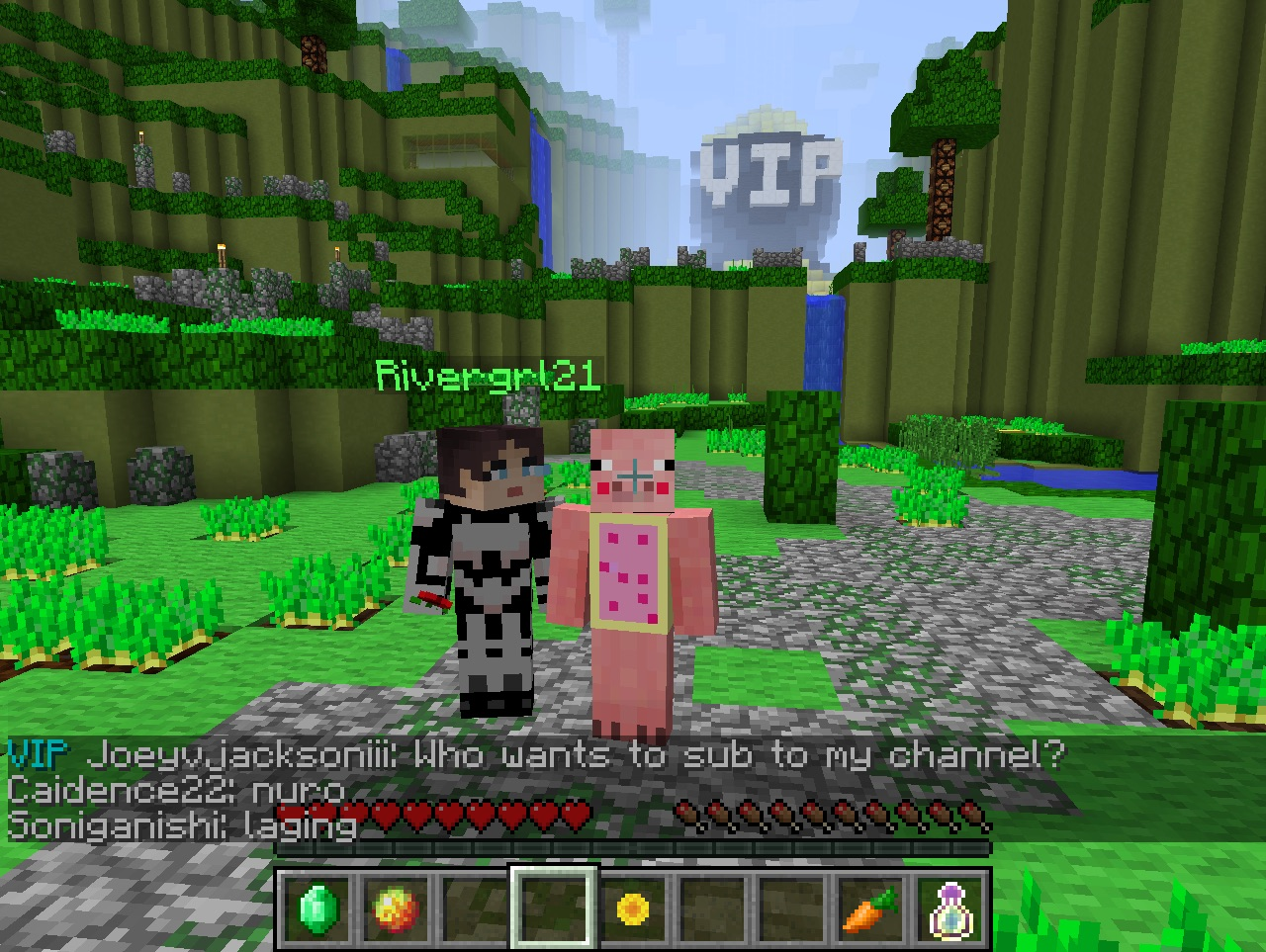 minecraft youtubers names